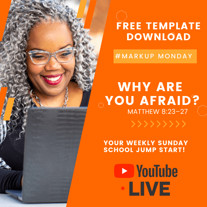 #MarkUpMonday for WHY Are You Afraid? – June 13, 2021 📚🤷🏽♀️🙌🏾